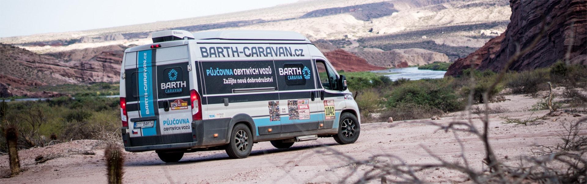 Obytný vůz na Rallye Dakar