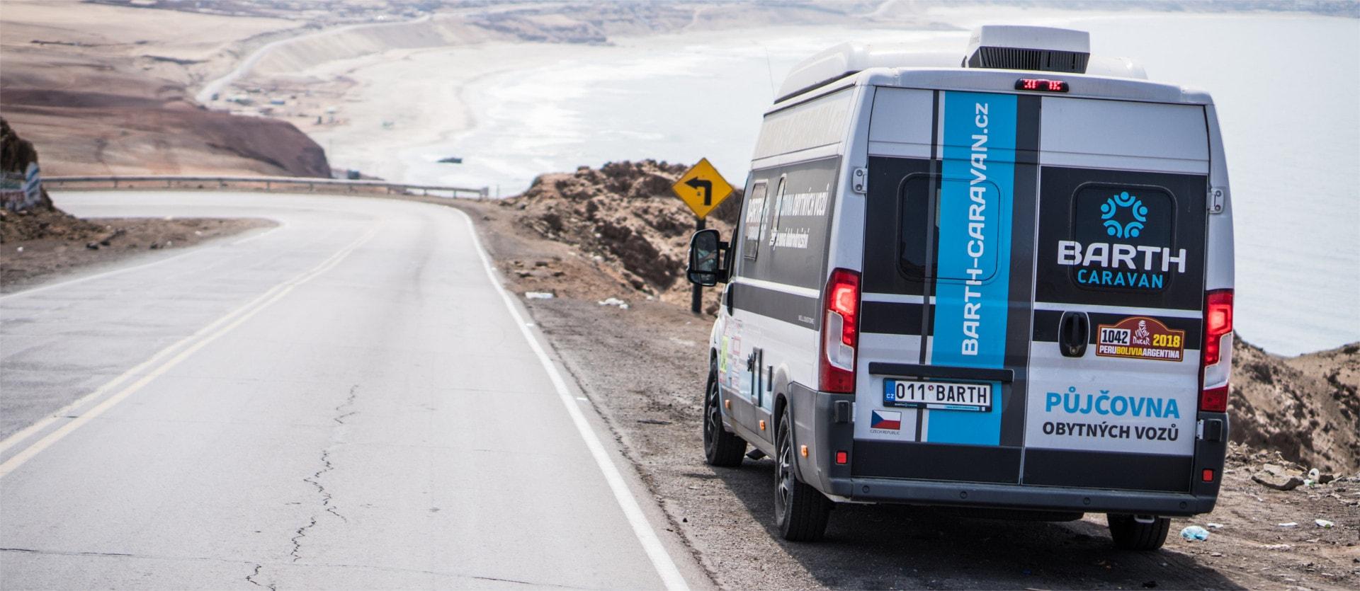 Hymer Car na Rallye Dakar